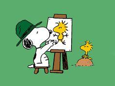 Snoopy  Woodstock..