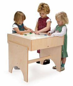Light table for sensory discovery