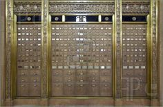 Antique Post Office Mail Boxes