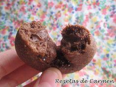 Rosquillas caseras de chocolate a la naranja
