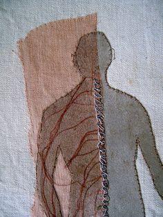 spinal nerves in progress by pennyleavergreen, via Flickr