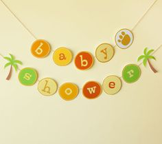 Lion King Banner. Create a safari-inspired atmosphere for your baby shower with this festive Lion King banner.