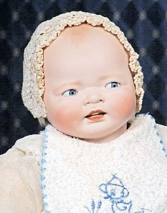 "162: KESTNER ""CENTURY BABY"" GERMAN BISQUE CHARACTER. : Lot 162"