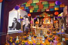 Altar al arquitecto Pedro Ramírez Vázquez en el Museo del Carmen