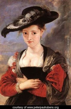 """The Straw Hat"" (c. 1625) by Peter Paul Rubens"