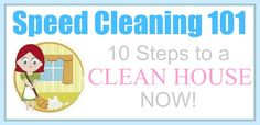 10 steps for speed cleaning