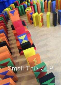 Chit Chat and Small Talk: Quick Artic Activity: Domino Mazes