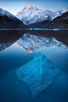 Mount Cook - Hooker Lake, New Zealand