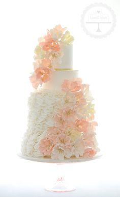 Cake Designs Coffs Harbour : Vintage Wedding Cakes on Pinterest 196 Pins