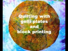 Print your own fabric for your next quilting project. Use the gelli plate for your textile art fabric design. You can print your own fabric with Colouricious wooden printing blocks. These wood blocks lift the paint off the gelli plate to create stunning results. to buy the gelli plate and the fabric paint go to