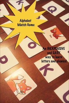 Teach Through Play: #Alphabet Match #Game