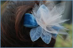 DIY: Feather-Light Hair Flowers