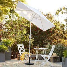 West Elm Square 4-Panel Umbrella