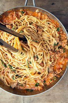 Arrabbiata Sauce: Spicy Sausage Pasta