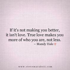 Mandy Hale ~ love quote