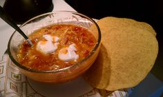 my own take on Tortilla Soup.Put it in the crockpot this morning (took 5 minutes) ate it for lunch.. yum. Used this pinterest recipe as a guide.