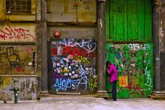 Bright colored Graffiti