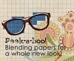 Simple Tricks - Blending Papers digit scrapbook, scrap tutori, daili digi, digi scrap, scrapbook tutori