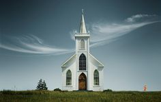 something about white rural churches