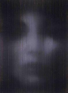Self, oil on canvas, Alison Van Pelt