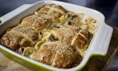 SORTED - hot cross bun and butter pudding