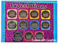 Ron Clark expectations posters