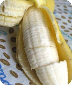 Fun Trick: ''Magic'' Banana already sliced when you peel it.