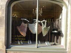 lingerie store valentine's window display