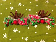 Reindeer snacks for Christmas school party.
