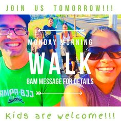 Monday morning walks at 8am in Azusa, CA.  Message me for details! :) #getfit