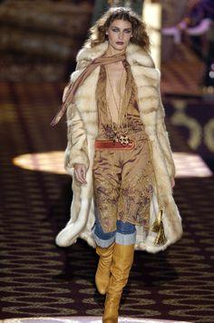 Roberto Cavalli at Milan Fashion Week Fall 2004 - StyleBistro