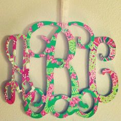 Lilly Pulitzer initials kaileycav26