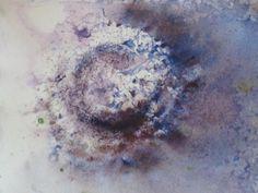jane minter's sketchbook: textures - watercolour + tracing paper