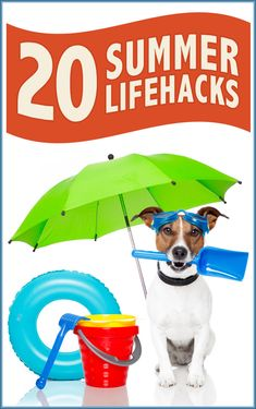 20 SummerLifehacks - lots of clever ideas!