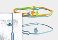 FingerPrint Bookmark Points To The Exact Spot You Stopped Reading