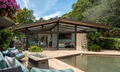 Studio City Mid-Century Modern Post & Beam - 3523 Laurelvale Dr — The Hollywood Home The Hollywood Home