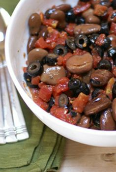 Mediterranean Fava Bean Salad | 5DollarDinners