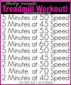 Friday's Treadmill & Strength Training Workout + Post Fuel! – Simply Taralynn