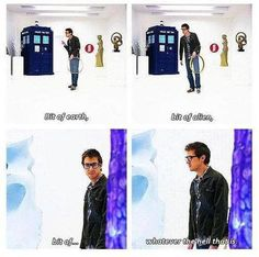 Rory on Doctor Who