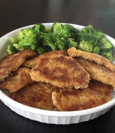 Easy Pork Schnitzel - Make this restaurant quality schnitzel with just 5 ingredients! Your kids can help pound, season, and coat the cutlets.