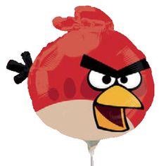 Globo Angry Birds palito