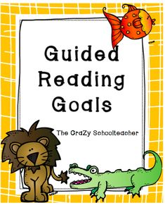 Guided Reading Goal Setting Bookmarks {printable} - Teach Junkie