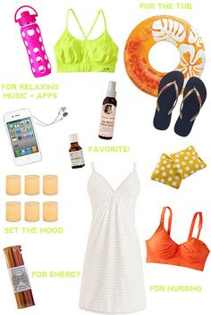 What to pack in your (#birth) hospital bag by www.lesleywgraham.com