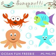 Ocean Fun Freebie