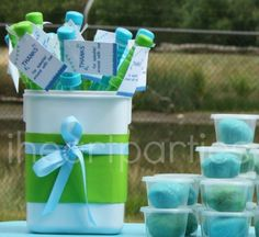 pool party favors great blog for partY ideas