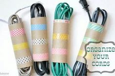 Organize electrical cords
