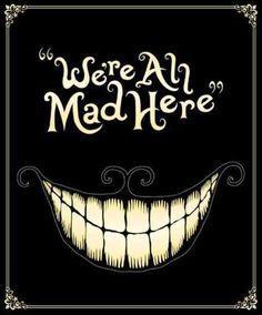 Alice in Wonderland quote via www.Facebook.com/DisneylandForMisfits