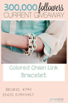Love this bracelet! Enter before this giveaway ends!