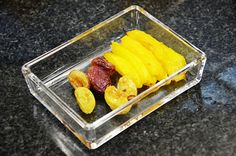 How to dry fruit in the oven.