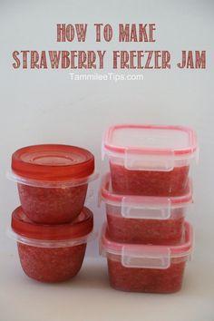 Strawberry Freezer Jam Recipe